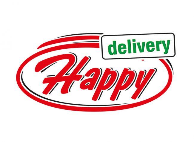 happy delivery logo